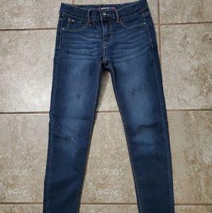 Girls size 10 super skinny jeans